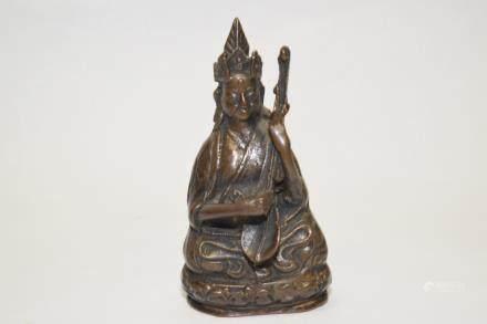 19th C. Tibetan Padmasambhava Figure
