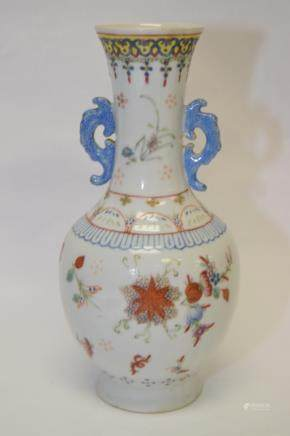 19th C. Chinese Famille Rose Vase