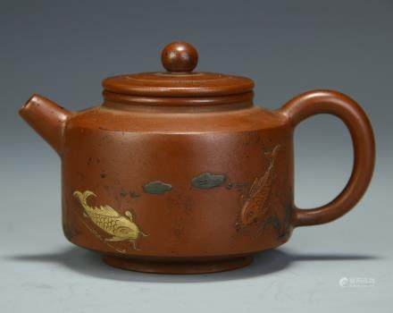A Chinese Yixing Clay Tea Pot