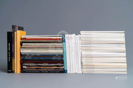 A lot of rare Chinese art catalogues: a.o. Eskenazi, Spink & Son, Sotheby's and 33 Arts of Asia magazines