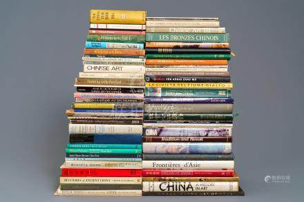 68 books on Chinese art, various subjects