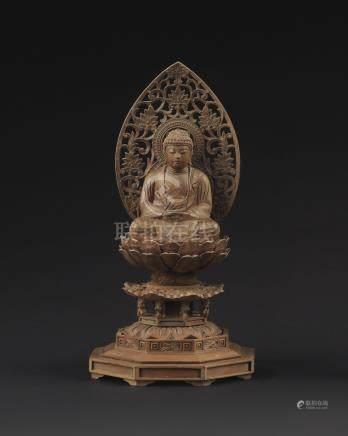 木雕释迦牟尼佛