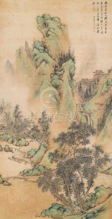朱昂之-仙山楼阁图