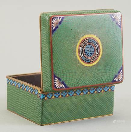 Japanese Meiji Cloisonne Box