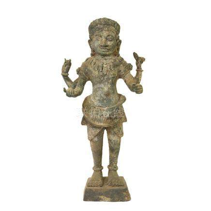 青銅菩薩像