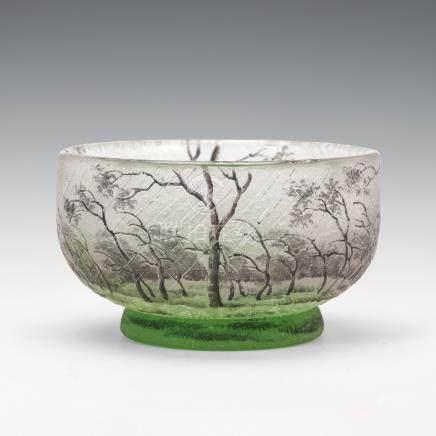 杜姆兄弟 風雨樹林紋鉢