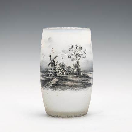 杜姆兄弟 荷蘭風景紋杯