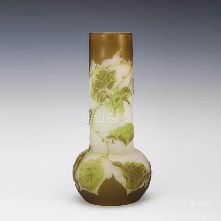 愛彌兒・賈列 橡樹紋花瓶