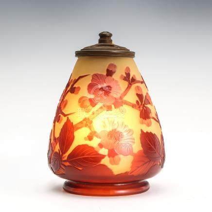 愛彌兒・賈列 梅花紋夜燈