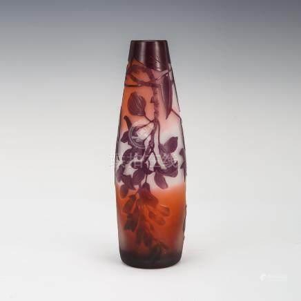 愛彌兒・賈列 紫藤紋花瓶