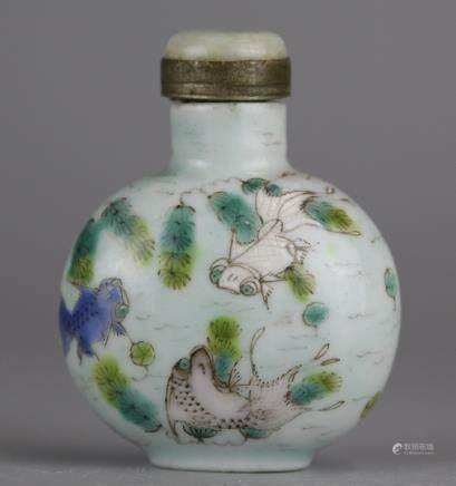 Chinese snuff bottle, possibly 19th c.