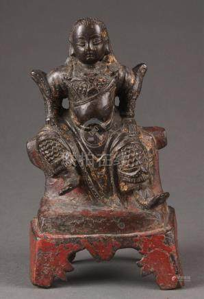 Bronze statue of Zhenwu/Xuanwu. A3WBB