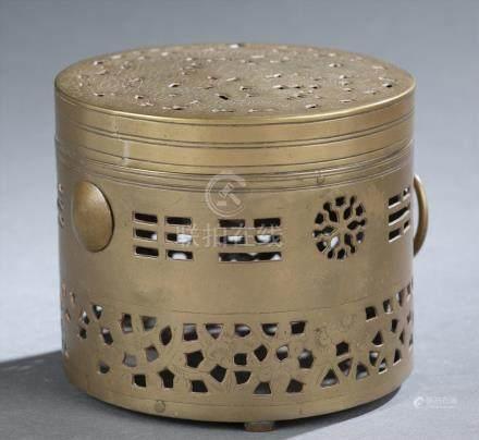 Brass incense burner.  A3WBW