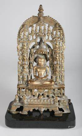 Jain Brass Shrine, Gujarat, ca. 12th /13th Century   A3WAB