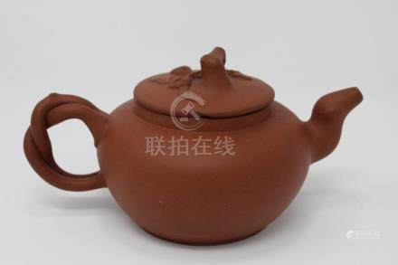 Chinese Zisha Clay Teapot, Exhibited 1915