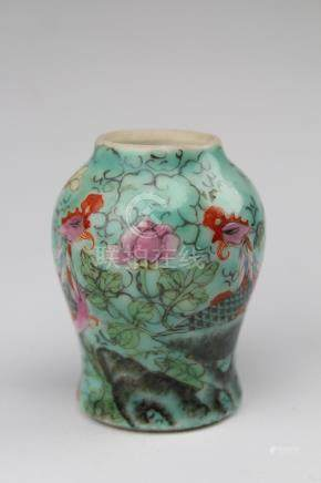 Antique Chinese Porcelain Miniature Vase