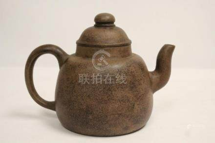 A fine Chinese large vintage Yixing teapot