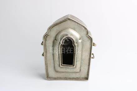 Chinese 17th c silver box