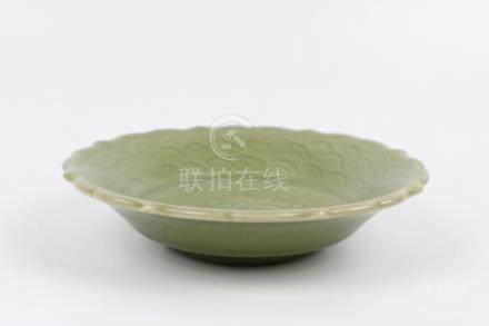 Chinese Longquan porcelain plate