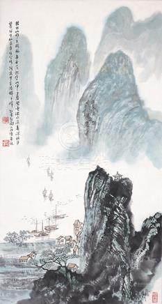 郭朝勇  桂林山水
