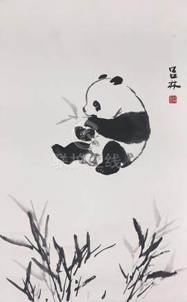 呂    林  熊貓