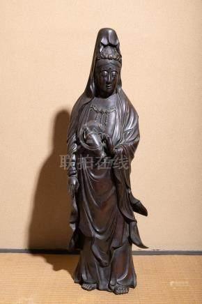 A Japanese Bronze Avalokiteshvara