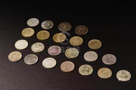 Silver Coins x 22