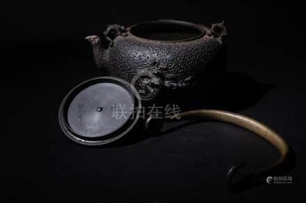 A Japanese Iron Tetsubin