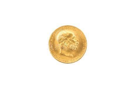 AUTRICHE, François-Joseph, 100 couronnes 1915 (refrappe). SUP.