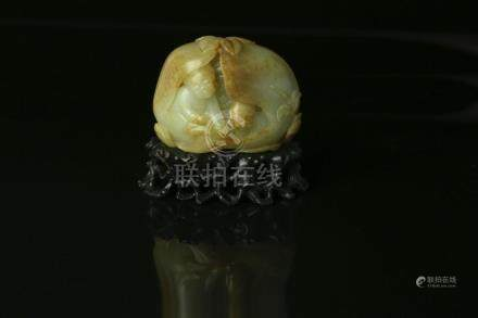 A Chinese Carved Jade Figure
