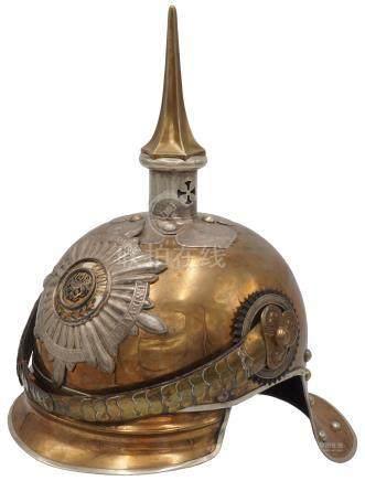 Preußischer Helm für Offiziere des Gardes du Corps / Garde-Kürassier-Regiments,  um 1900
