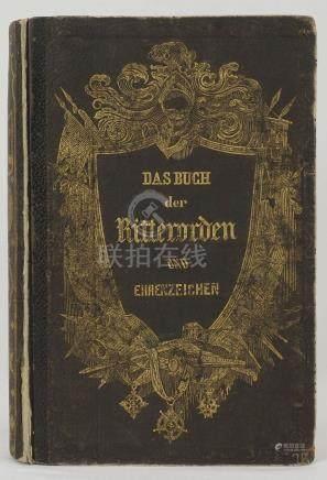 """""""Das Buch der Ritterorden und Ehrenzeichen"""""""