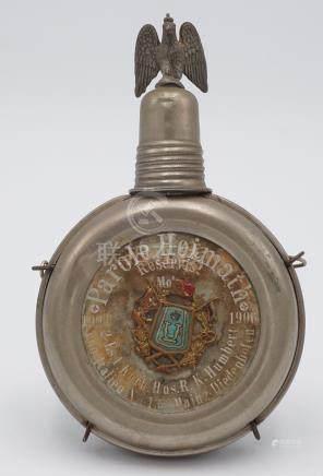Kleine Reservistenflasche Husaren Regiment Nr. 13,  1903-1906