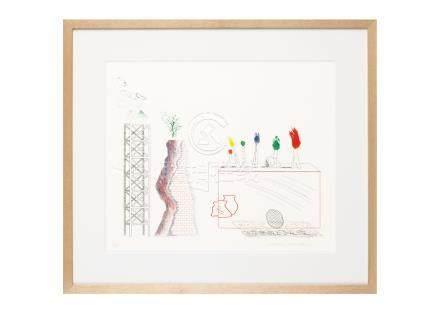 David Hockney (大衛・霍克尼)A Tune