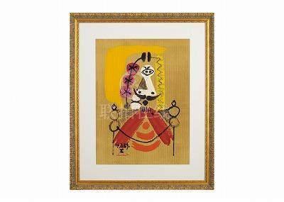 Pablo Picasso  (巴勃羅・畢卡索)想像中的肖像