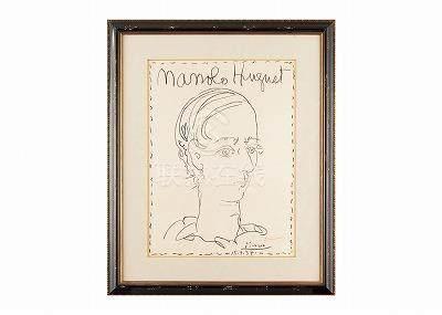 Pablo Picasso  (巴勃羅・畢卡索)Affiche Pour Le Musee De Ceret(BL.1278)