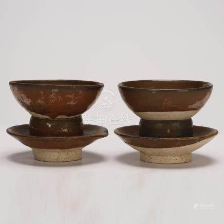 Two Tianmu Cups in Song Dynasty