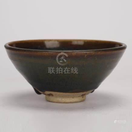 Qing Dynasty  Jian kiln cup