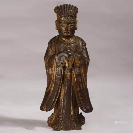 Wooden Buddha Statues of Qing Dynasty  in China