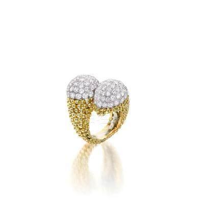 A diamond ring, David Webb