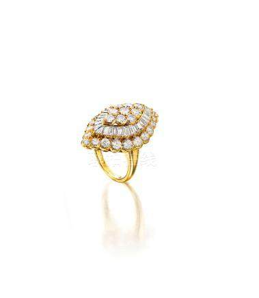 A diamond ring, Van Cleef & Arpels, French
