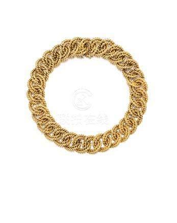 A 14k gold necklace, Verdura