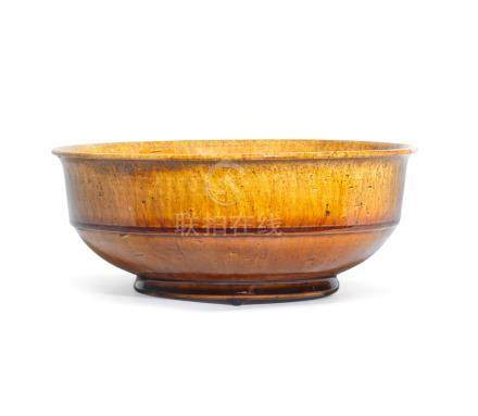 An amber-glazed bowl Tang Dynasty