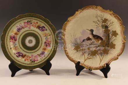 Limoges and Imperial Austria dishes.