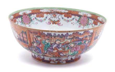 A Chinese Export Porcelain Bowl