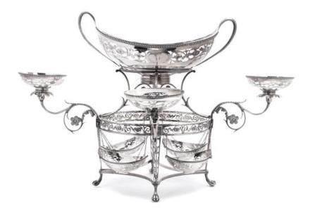 A George III Silver Epergne