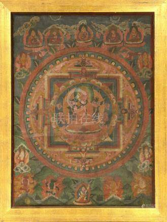 Tibetan Tangkha 'Painting',
