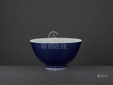 A YONGZHENG MARK & PERIOD BOWLChina, 1723-1735. The deep rounded sides rising from a short foot,