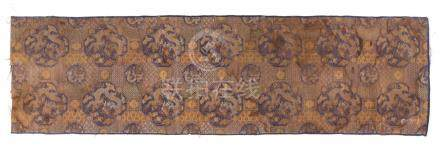 Chinese Brocade Altar Cloth, Qing Dynasty   A3WCT A3WCC