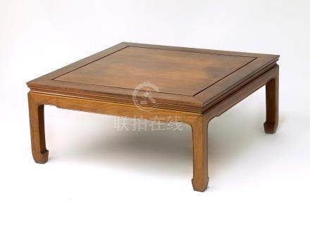 Chinese Low Hardwood Table, Modern  A3WCC